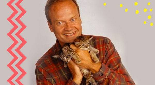 13 Celebrities Awkwardly Posing with Cats