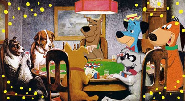 10 Hilarious Takes on Dogs Playing Poker... Plus 1 Wild Card